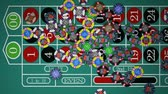 jogos : Roulette Table Chips Falling (HD)