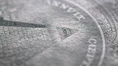 koszty : Close up of U.S. Dollar Wideo