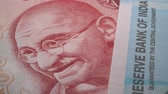 mahatma : Macro close up of Indian Currency