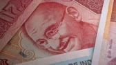 Банкнота : Macro close up of Indian Currency