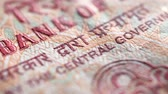projeto de lei : Macro close up of Indian Currency