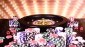 Casino Poker Chips and roulette