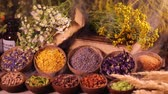malta : Alternative medicine, dried herbs