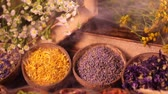 amphore : Herbal medicine and smoke