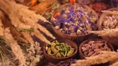 shabby : Herbal medicine Stock Footage