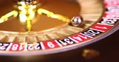 roulett : Casino roulette, running in a motion