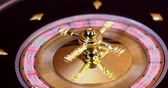 kugel : Roulette wheel running in a casino