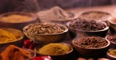 cardamom : Aromatic spices, Still Life background