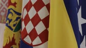 política : Flags of Bosnia, Croatia, Serbia and Montenegro