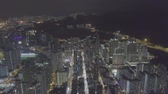 шуй : Aerial view over Kowloon, Sham Shui Po, in Hong Kong, crowded and busy,  save in log file