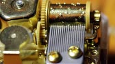 pim : Closeup Shot Of Inner Workings Music Box