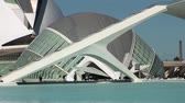artes : Detail and close up on building in Ciudad de las artes y ciencias Valencia, Spain