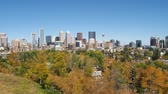 View of downtown Calgary from the south.