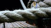 curso : Details of boat ropes, nautical vessel
