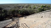 Cityscape of ancient Mayan city of Ek Balam near Valladolid, Mexico