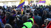 política : Madrid, January 2015 - Rally in behalf of the new political party Â«PODEMOS»
