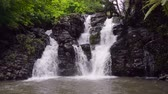 splash park : Beautiful Bouma Falls in Fiji highlights the freshwater pool created from rainfall