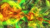 psychedelic pattern : A multi-colored psychedelic animated fractal provides a colorful main, background or design element