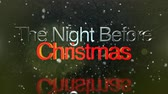 nevando : Seasonal clip depecting the night before Christmas message for use as a holiday messaging clip