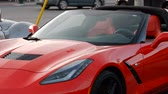 dodge : Exotic Sports Cars Pan Right To Left Corvette Dodge Viper And Ford GTS 4K Stock Footage