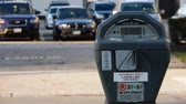 giderler : 4K White Cars Drive By Parking Meter