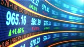 work : Stock Exchange Market Data Stock Footage
