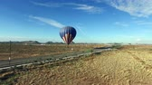 overcome fear : Aerial towards hot air balloon launching