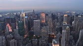skyline : New York City - Manhattan skyline Stock Footage