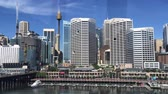 november : SYDNEY? NOVEMBER 2015: Panoramic view of Darling Harbour. The city attracts 10 million visitors annually