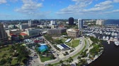tampa : West Palm Beach, Florida. Beautiful aerial view