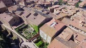 toscana : Pienza Panoramic Aerial View