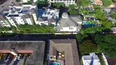 Fort Lauderdale homes, aerial view