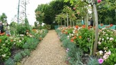 article : GIVERNY, FRANCE? JULY 2014: Monets Garden on a cloudy day. The garden is a famous tourist attraction