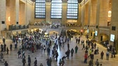 viagens de negócios : NEW YORK CITY? OCTOBER 2015: Inside the historic Grand Central Terminal Station, October 2015 in New York, New York