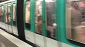article : PARIS? JULY 2014: Metro station in Paris. The subway is the best way to move in the city