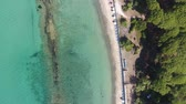 refrescante : Overhead view of Torre Mozza Beach and Tower, going down