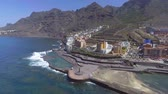 yüzme havuzu : Aerial view of Bajamar Pools in Tenerife