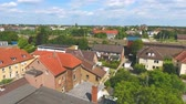 рамка : Aerial view of skyline Celle, Germany
