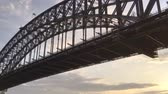 new house : Sydney Harbour Bridge, wonderful panoramic view at dawn