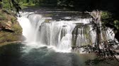 gardinen : Lower Lewis River Falls im Skamania County Washington Closeup 1920 x 1080