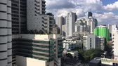 Bangkok High rise hotel and apartment in Sukhumvit Luxury area. Wideo