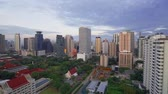turizm : Cityscape Skyscrapers time lapse Day of Bangkok city