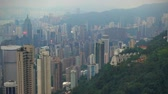 hong kong : Luxury houses on The Victoria Peak Hong Kong