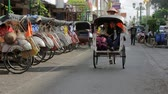 indonesia : JOGJAKARTA - MAY 2012: transportation with cyclo