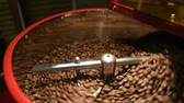 pieczeń : roaster for roasting coffee. Roasting machine in the coffee house