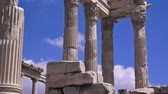 anatolia : Pergamon, Trajan temple, ruins of ancient acropolis, Turkey, Bergama