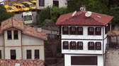 anatolia : Old historic houses in Safranbolu, 31.05.2014, Turkey Stock Footage