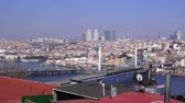 bosphorus : View of Golden Horn Bay and Galata Bridge, Turkey, Istanbul