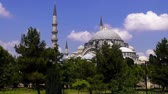 ahmet : Blue Mosque on a sunny summer day,  Istanbul, Turkey