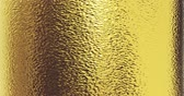 crumpled : gold foil texture background 3D rendering Stock Footage